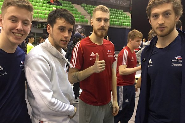 TFC Fencers At Györ Sabre World Cup
